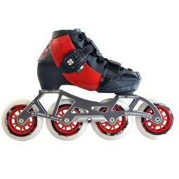 Luigino Kids Adjustable Skate Red